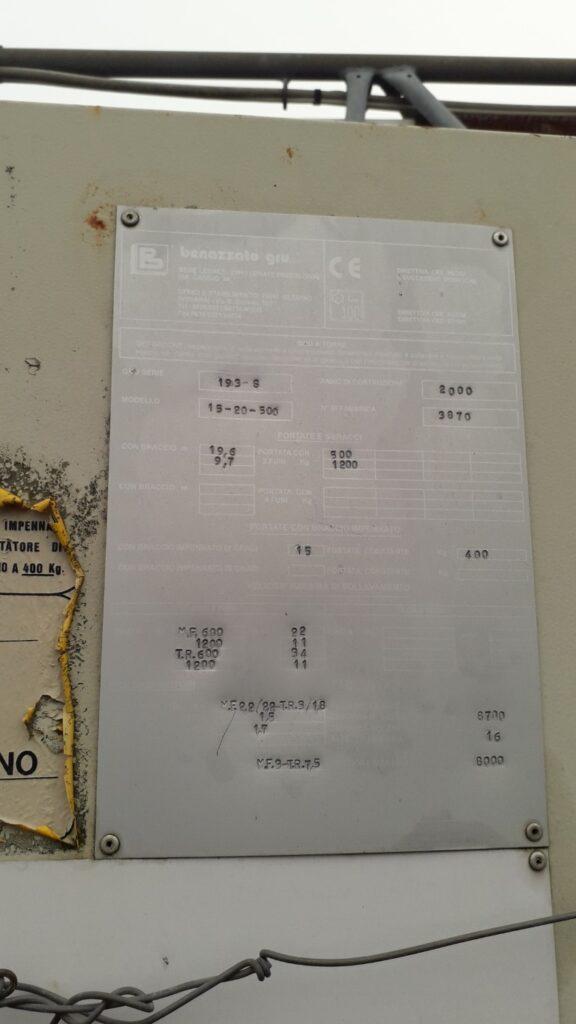 Macara Automontanta Benazzato 193 S
