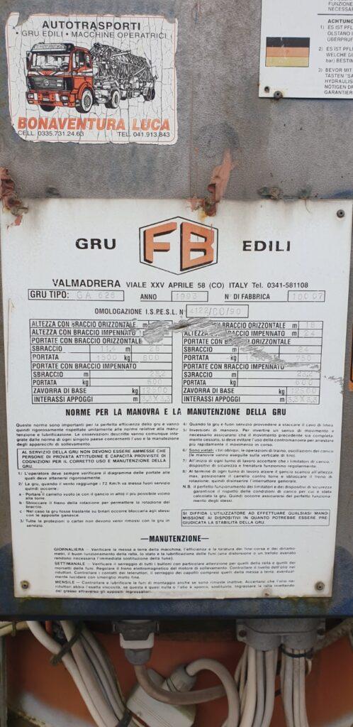 Macara Automontanta FB GA 626
