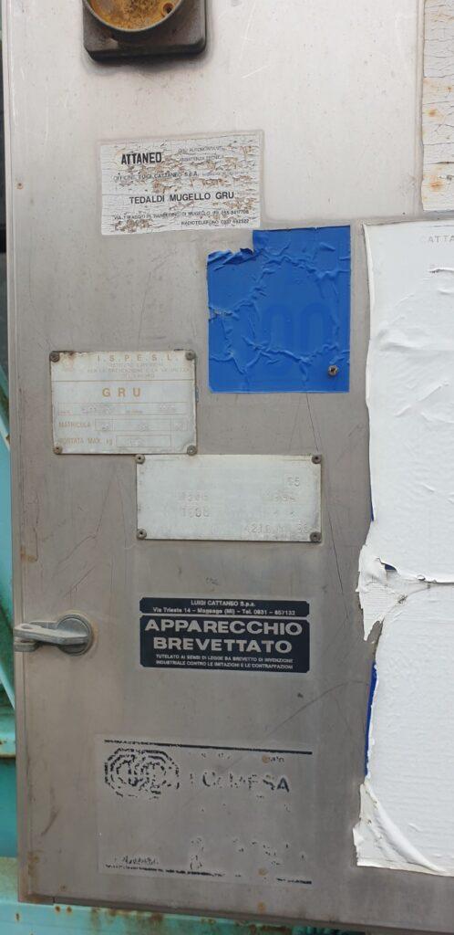 Macara Automontanta Cattaneo CM 65