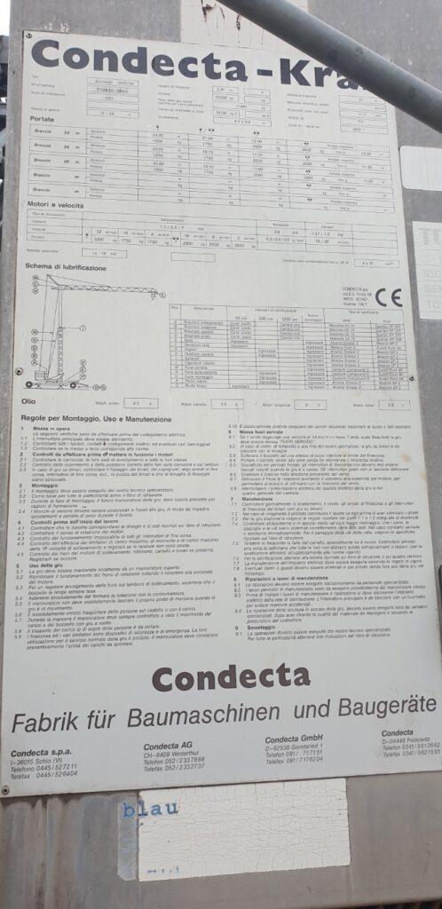 Macara Automontanta Condecta 3010/20